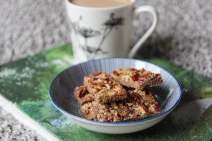 עוגיות קינמון עם אגוזים מתכון קל ומהיר הכנה בלוג אוכל כשר הנסיכה והעדשה נעמי מלאכי