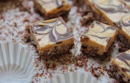 חטיף שוקולד וחמאת בוטנים